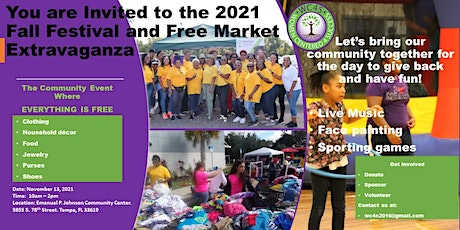 Fall Festival and Free Market (RESCHEDULED UNTIL SPRING 2022) tickets