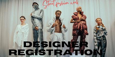 Streetwear Designers Registration Open for New York Fashion Week tickets