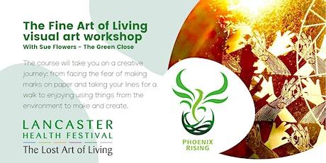 Visual Art Workshop - Lancaster Health Festival tickets