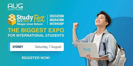 [AUG Sydney] StudyFest 2021 - Education, Migration and Internship Expo tickets
