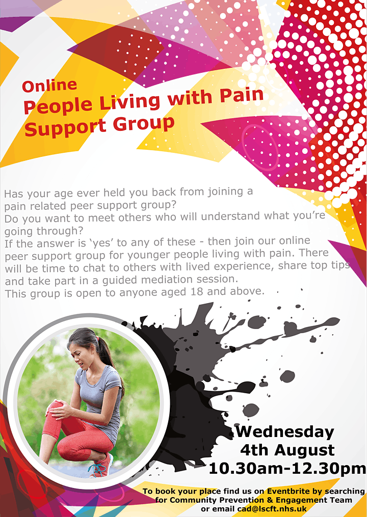 Young People Living with Pain in Central Lancashire image