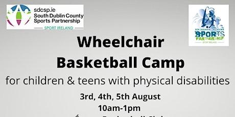 Wheelchair Basketball Camp tickets