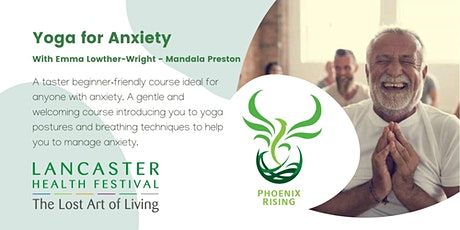 Yoga for Anxiety - Lancaster Health Festival tickets