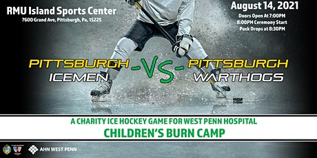 Charity Ice Hockey Game - Pittsburgh Icemen -vs- Pittsburgh Warthogs tickets