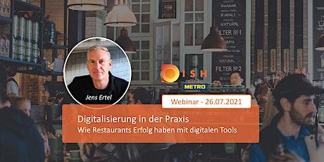 Digitalisierung im Restaurant: in der Praxis Tickets