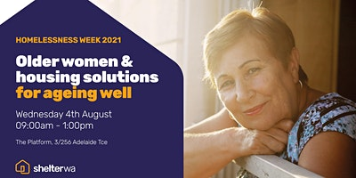 Older women & housing solutions for ageing well