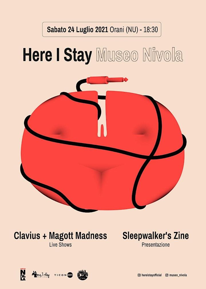 Immagine Here I Stay + Museo Nivola