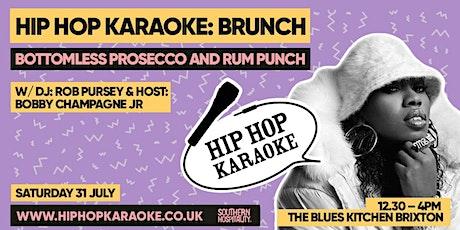 Hip Hop Karaoke Brunch tickets