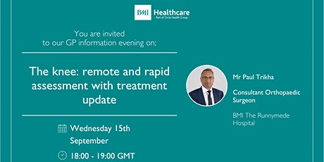 The Knee: Remote and rapid assessment with treatment update tickets
