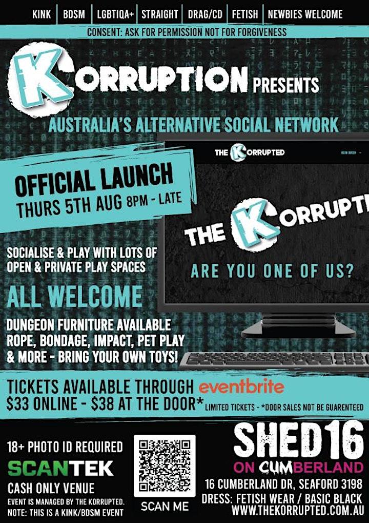 Korruption -  Australia's Alternative Social Netwo image