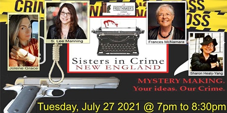 Mystery Making w/ Sisters in Crime New England tickets