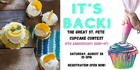 Great St. Pete Cupcake Contest - Timed Tickets tickets