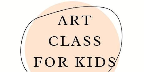 Kids Art Class - Saturday tickets