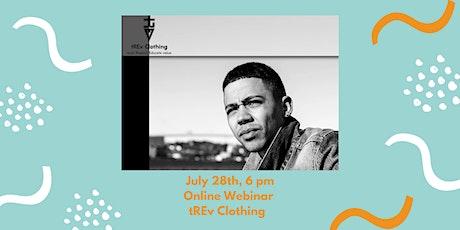 Entrepreneurship Webinar: tREv Clothing. tickets