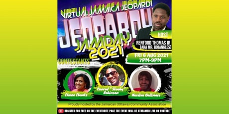 JAMDAY 2021 Jamaica Jeopardi tickets
