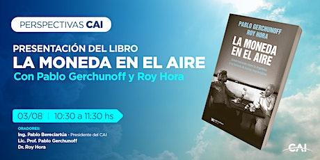 #CicloPerspectivas Presentación del libro:La moneda en el aire entradas