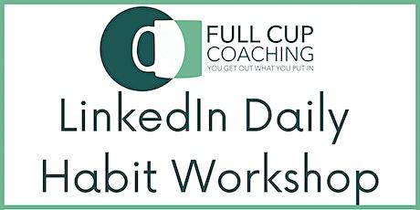 LinkedIn Daily Habit Workshop with Ashley Leeds billets