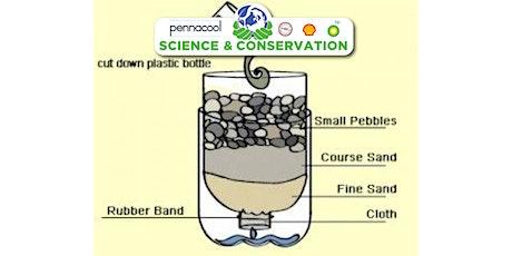 Science making a water filter Std 4-5 biglietti