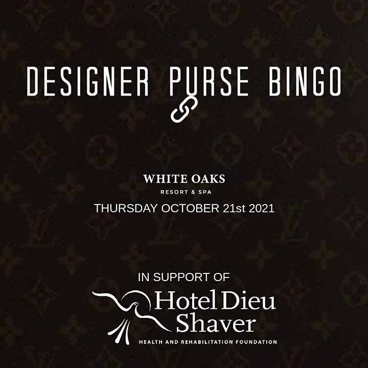 Designer Purse Bingo image