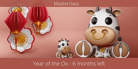 Masterclass: Year of the Ox - 6 months left tickets