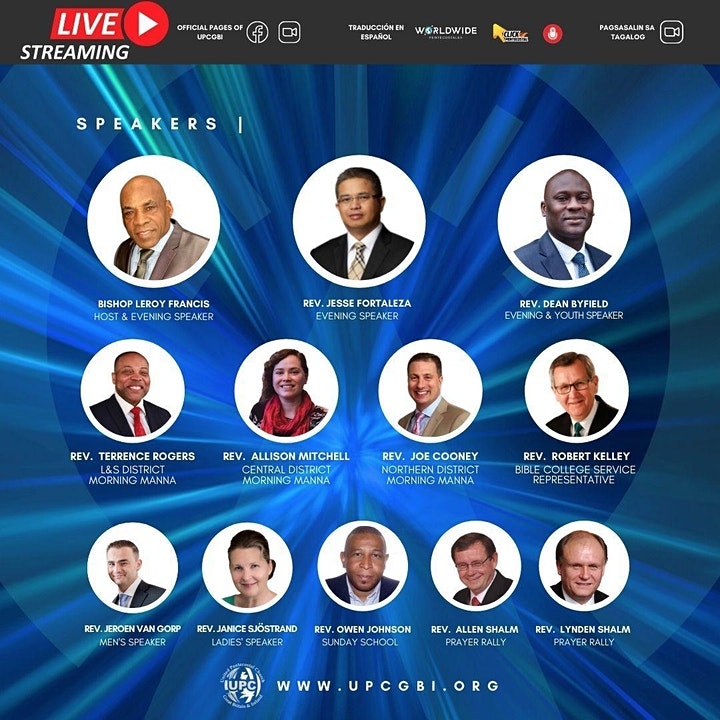Accelerated Apostolic Action - Virtual General Conference image