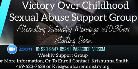 Victory Over Childhood Sexual Abuse tickets