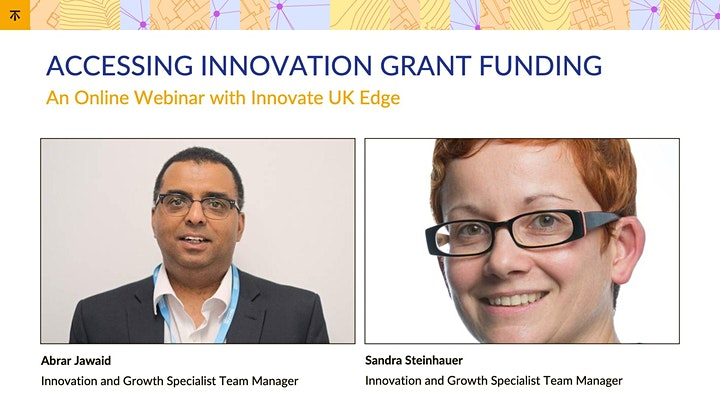 Accessing Innovation Grant Funding image