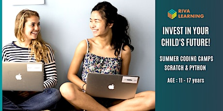 Summer Coding Camps - Python for teens and pre teens, Aug 2nd, afternoon tickets