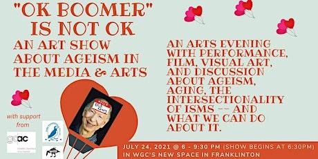 """OK BOOMER"" IS NOT OK tickets"