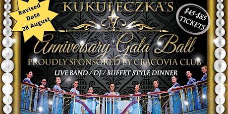 Kukuleczka's 30th Anniversary Gala Ball proudly sponsored by Cracovia Club tickets