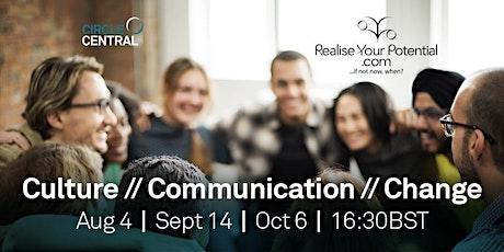 Culture | Communication | Change tickets