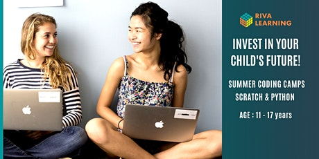 Online Coding Camp - Introduction to Python , Mon to Fri, 9 am to 12 pm tickets