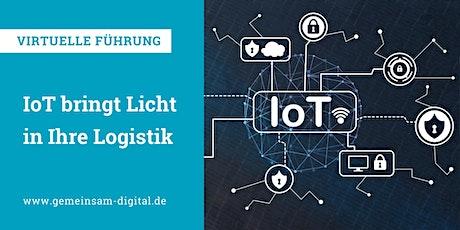 Virtuelle Führung: IoT bringt Licht in Ihre Logistik Tickets