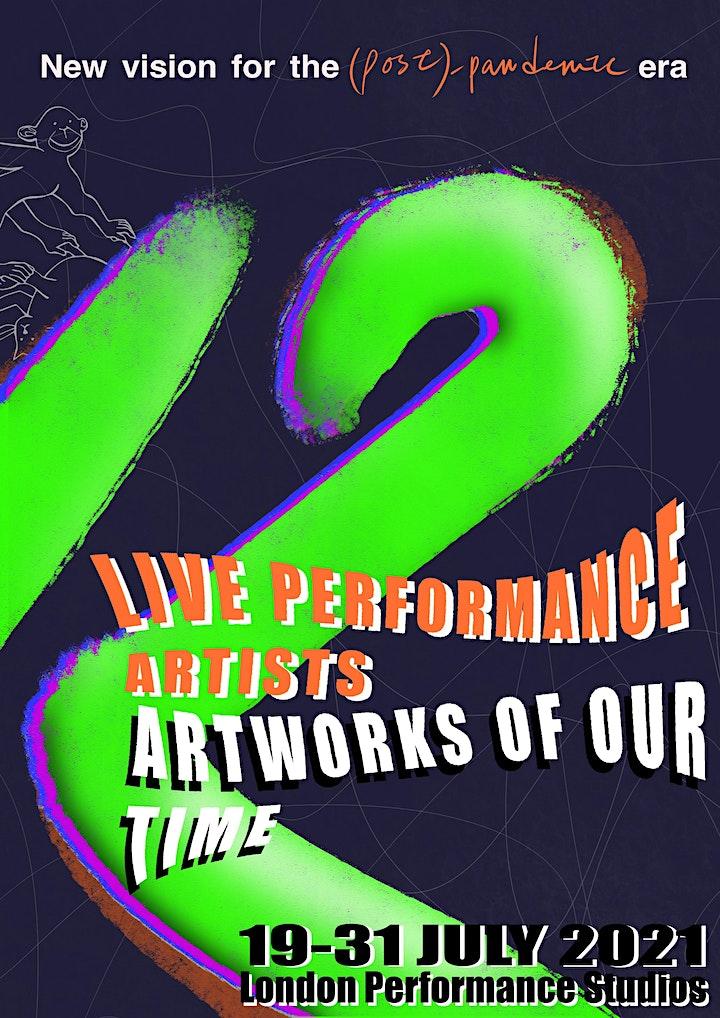 Twelve Live Performance Artists,  Twelve Artworks of Our Time image