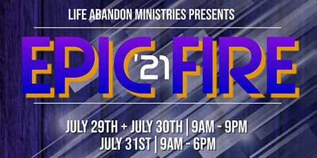 2021 Epic Fire Youth Conference tickets