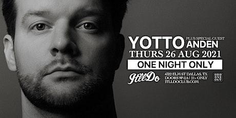 Yotto at It'll Do Club tickets