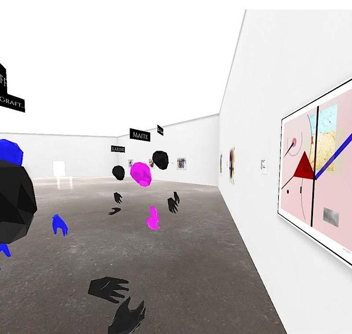 Online Exhibition Tour & Artist Talk at Baron Grafton Arthouse VR Gallery image