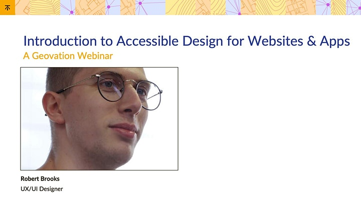 Introduction to Accessible Design for Websites and Apps image