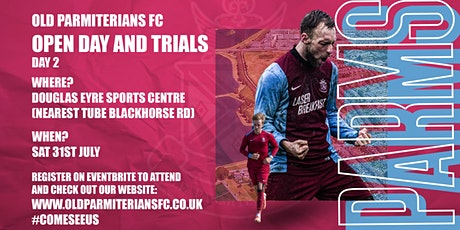 Open Day & Trials (Day 2) - Old Parmiterians FC (Walthamstow) tickets