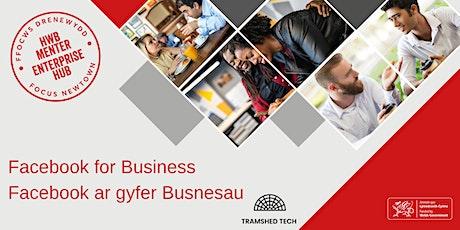 Facebook for Business | Facebook ar gyfer Busnesau tickets