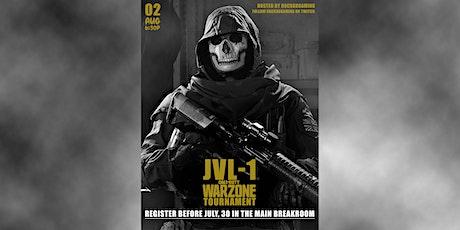 JVL-1 Warzone Quads Tournament tickets