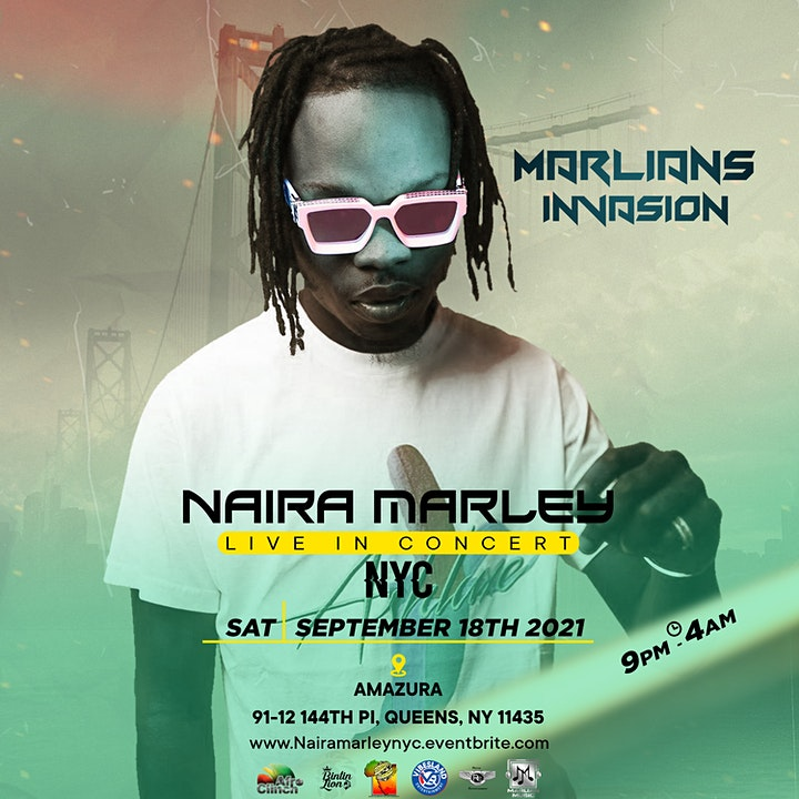 NAIRA MARLEY LIVE IN CONCERT (NYC) image