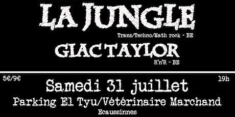 Summer of Music 2 - La Jungle + Giac Taylor billets