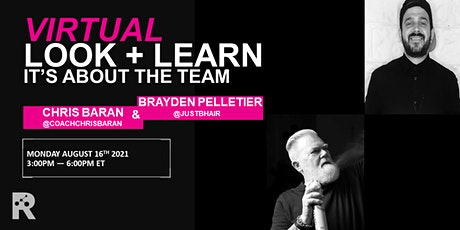 REDKEN INTERNATIONAL - IT'S ABOUT THE TEAM: CHRIS BARAN & BRAYDEN PELLETIER Tickets