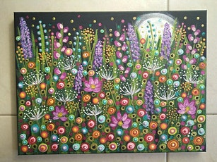 August 20th Moonlight in the Garden-Painting Class 6pm at Soule' Studio tickets