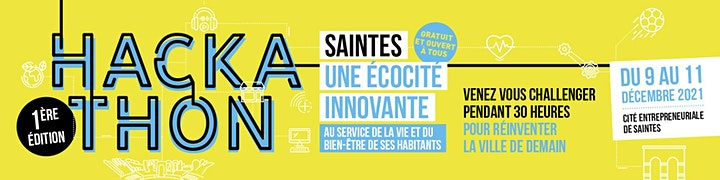 """Image pour HACKATHON """"Saintes une éco cité Innovante"""""""