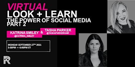 REDKEN CANADA - THE POWER OF SOCIAL MEDIA P2: KATRINA SMILEY & TASHA PARKER tickets