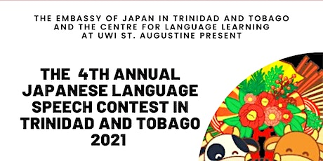 The 4th Annual Japanese Language Speech Contest in Trinidad and Tobago tickets