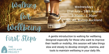 Walking for Wellbeing - First Steps tickets