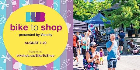 Bike to Shop 2021 tickets